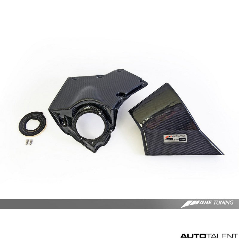 AWE Tuning S-FLO Carbon Intake System - Audi A4, A5 B8 2008-2010