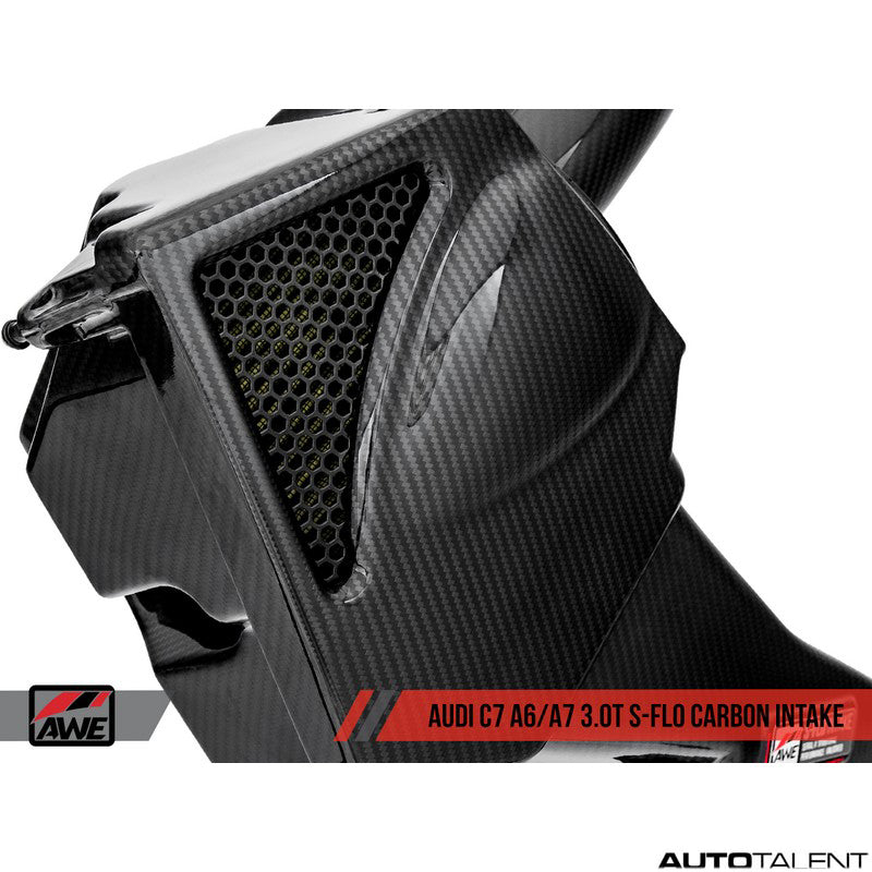 AWE Tuning S-FLO Carbon Intake System - Audi A6, A7 C7, C7.5 2012-2018