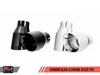 AWE Tuning BMW F22 M235i / M240i Touring Edition Axle-back Exhaust - Chrome Silver Tips (102mm) - autotalent