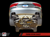 AWE Tuning Audi S7 4.0T Touring Edition Exhaust - Diamond Black Tips