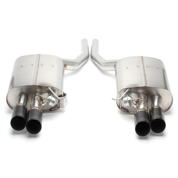 Dinan Freeflow Stainless Exhaust with Black Tips for BMW F01 750i F02 75iL (N63TU)