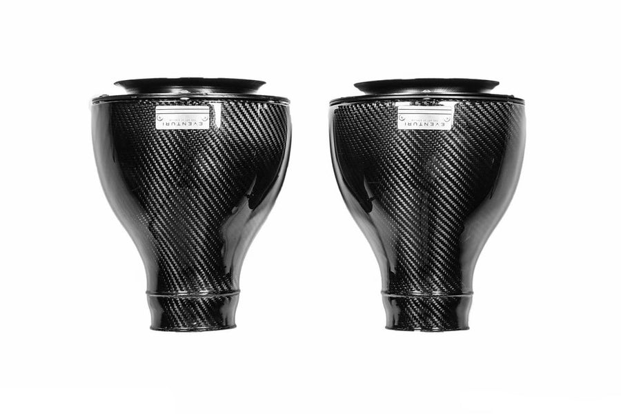 Eventuri Carbon Fiber Kevlar Intake With Black Tubes - BMW M6 F13