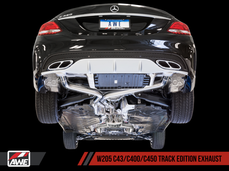 AWE Tuning Mercedes-Benz W205 C450 AMG / C400 Track Edition Exhaust