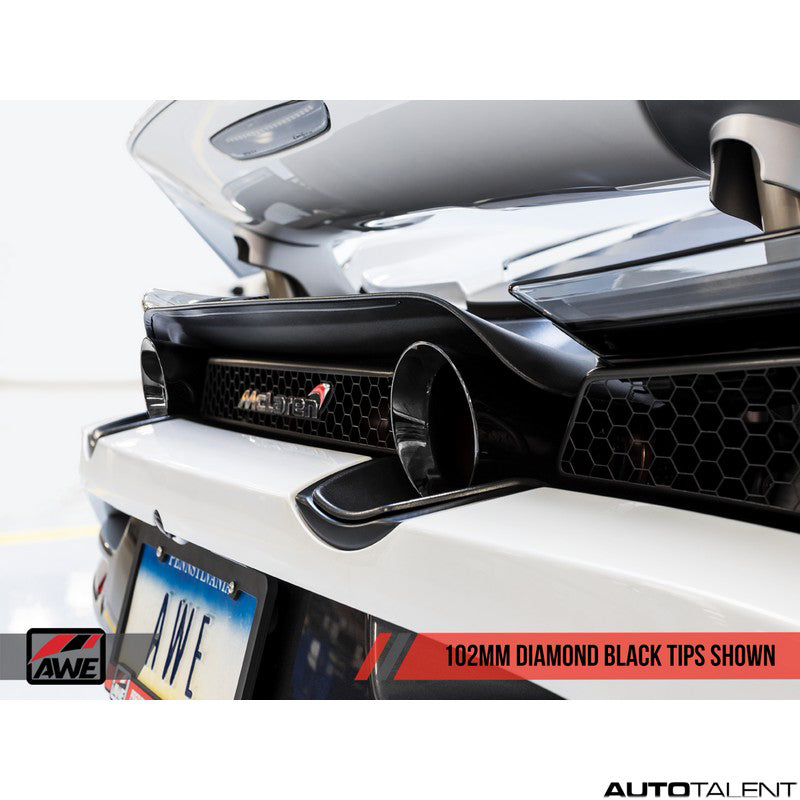 AWE Tuning Diamond Black Tips for mclaren 720s  - AutoTalent