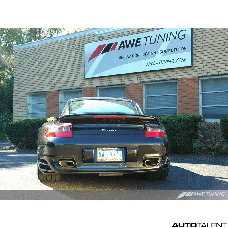 AWE Tuning Cat-Back Exhaust System - Porsche 911 Turbo 997.1 2007-2009