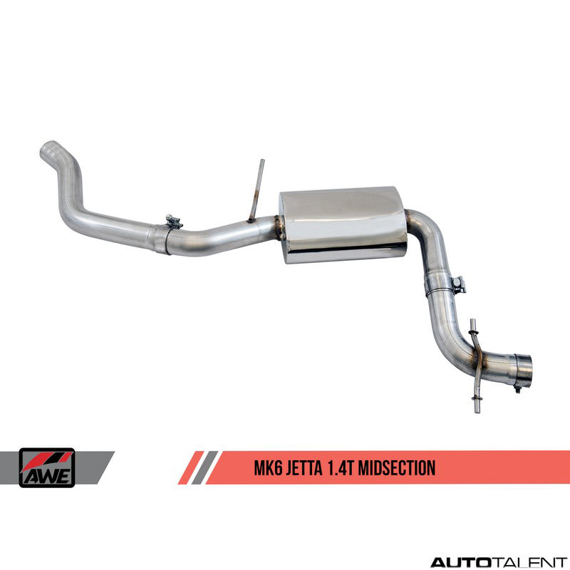 AWE Tuning Track Edition Cat-Back Exhaust - Volkswagen Jetta MK6 2016-2018