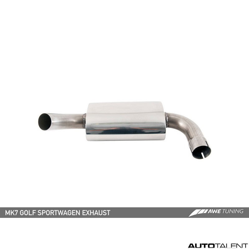 AWE Tuning Track Edition Cat-Back Exhaust - Volkswagen Golf Sportwagen MK7 2015-2017