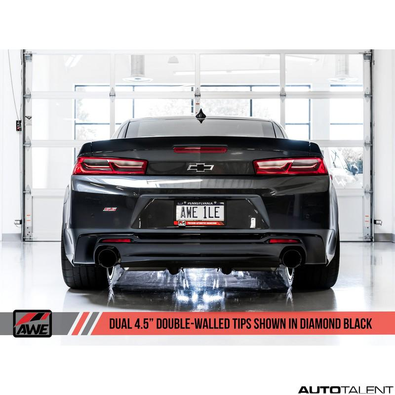 AWE Tuning Touring Edition Axle-Back Exhaust - Chevrolet Camaro SS Gen6 2016-2018