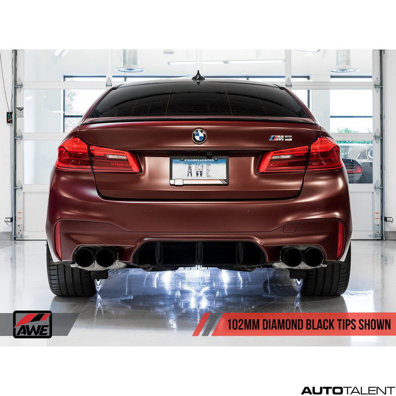 AWE Tuning SwitchPath Axle-back Exhaust System - Bmw M5 F90 2018-2019