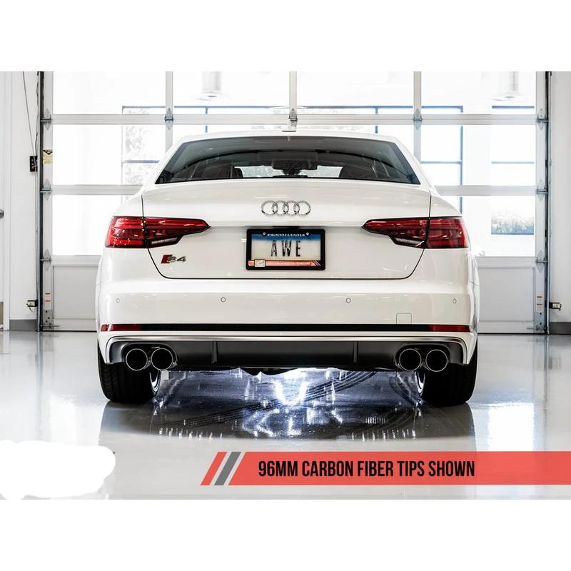 AWE Tuning Touring Edition Cat-Back Exhaust System - Audi S4 B9 2018