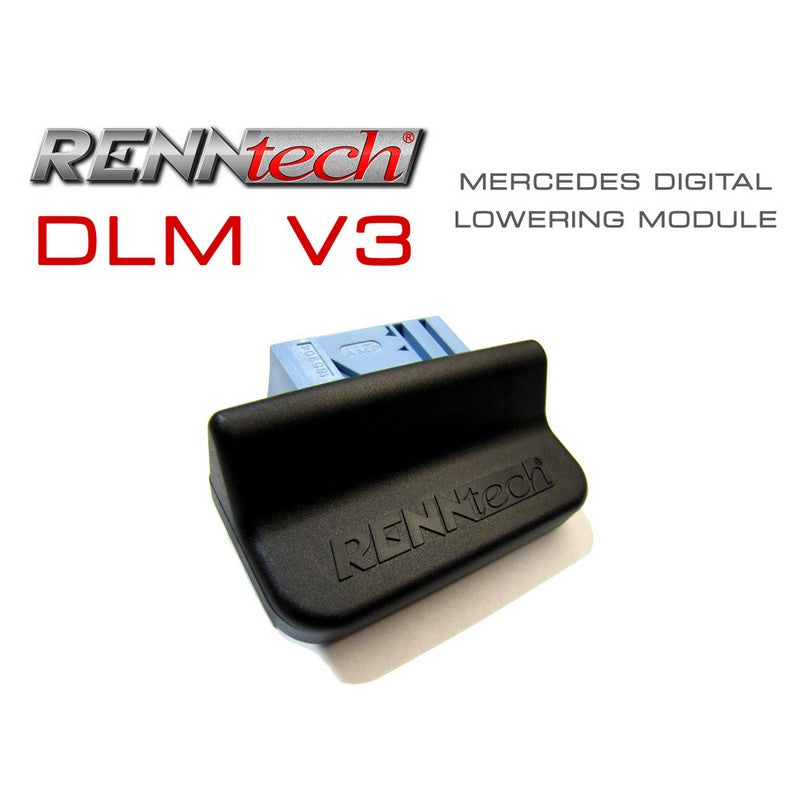 RennTech V3 Digital Suspension Lowering Module For Mercedes-Benz C219 CLS 550