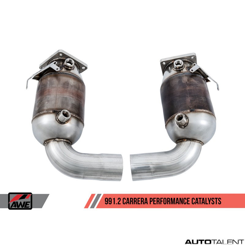 AWE Tuning Performance Catalysts - Porsche  911 Carrera, Carrera S 991.2 2017-2019