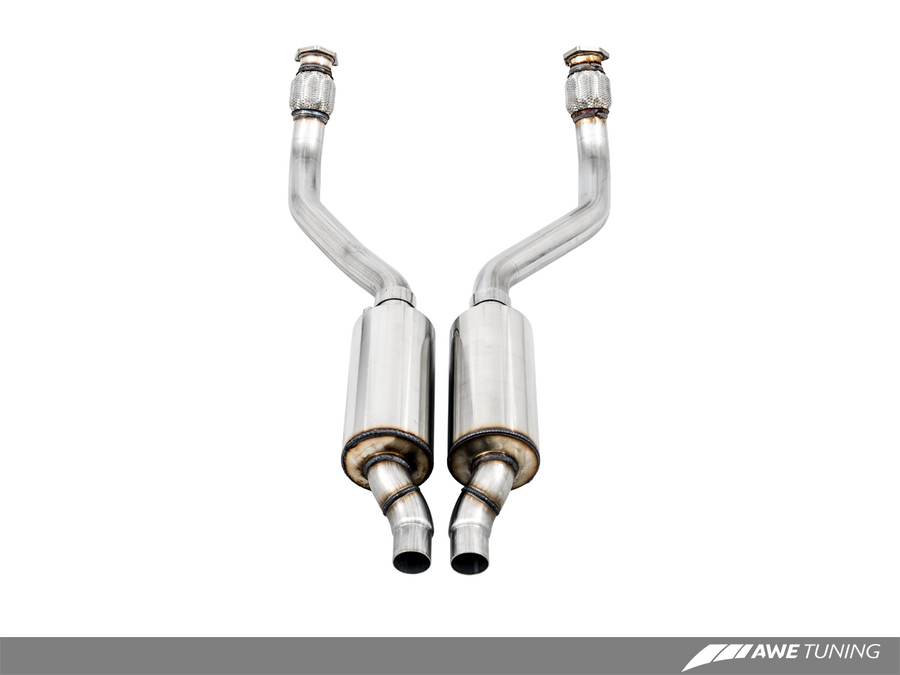 AWE Tuning Resonated Downpipe - AutoTalent