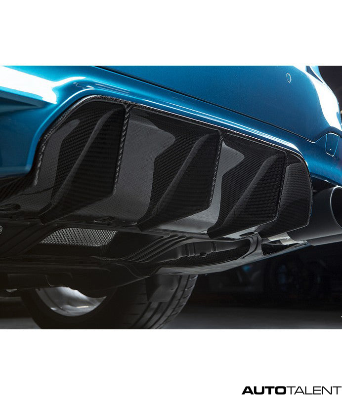 RKP Carbon Rear Diffuser 2x2 Weave - BMW M5 F90 2018-2019