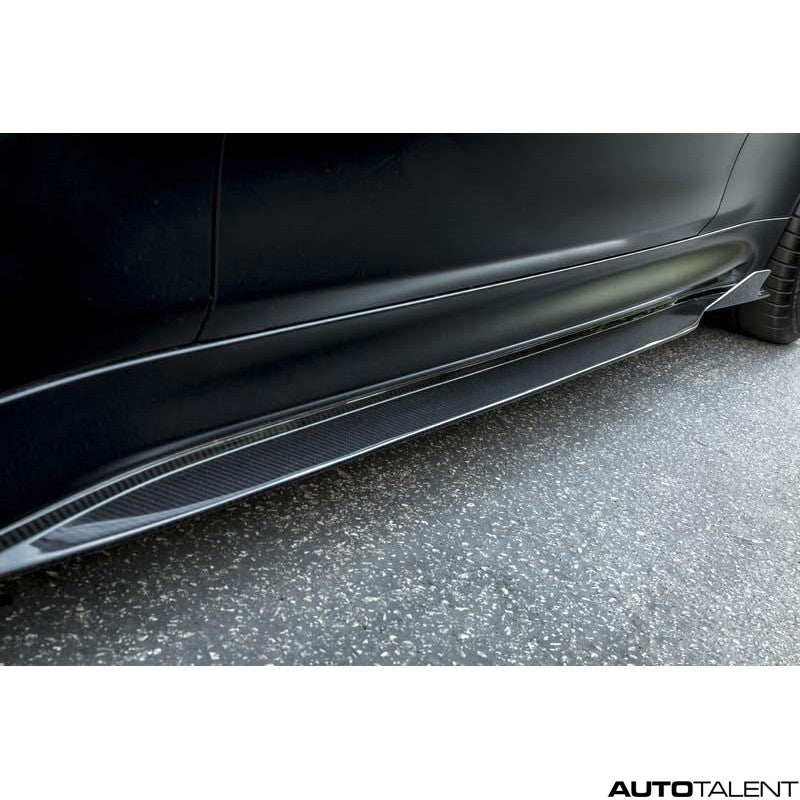 Vorsteiner VRS GTS-V 2x2 Carbon Fiber PP Side Skirts For BMW M3, M4 F8x 2015-2019