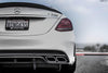 PSM Dynamic Carbon Fiber Rear Diffuser Undertray Mercedes-Benz W205 C63 AMG