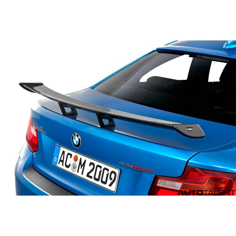 AC Schnitzer Aero Rear Wing Carbon For BMW M2 F87 Competition 2016-2019