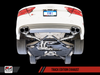 AWE Tuning Audi S7 4.0T Track Edition Exhaust - Chrome Silver Tips - autotalent