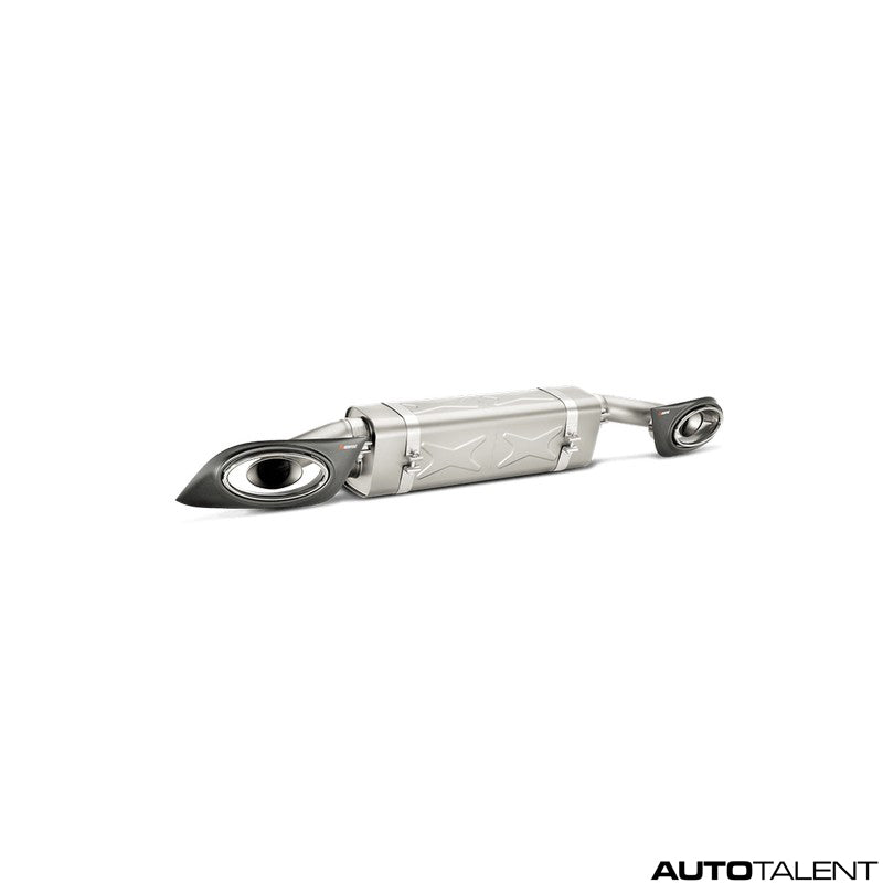 Akrapovic Slip-On Line (Titanium) - Porsche 911 Turbo/Turbo S (991), 2014-2015