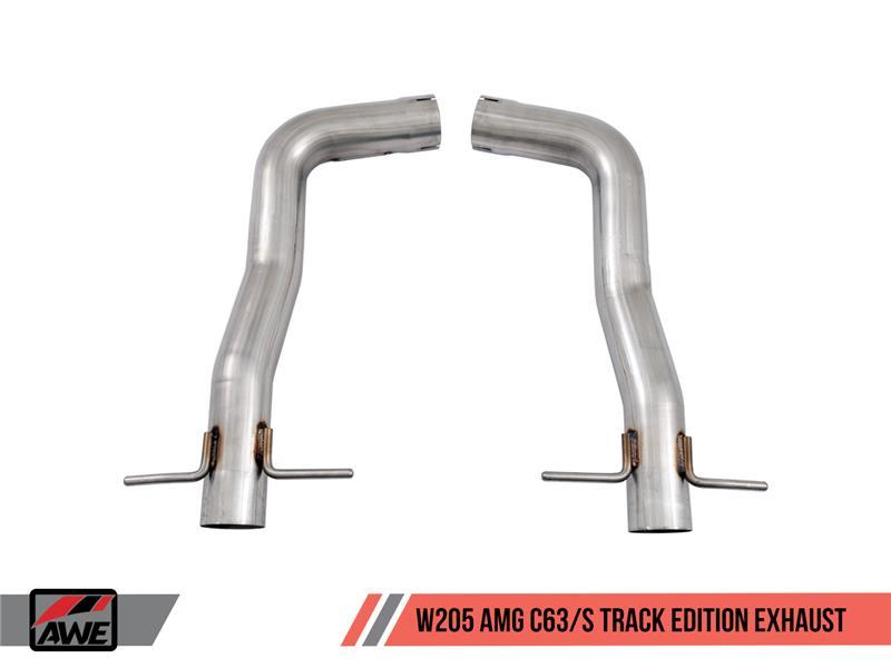 AWE Tuning Mercedes-Benz W205 AMG C63/S Coupe Track Edition Exhaust System  (no tips)