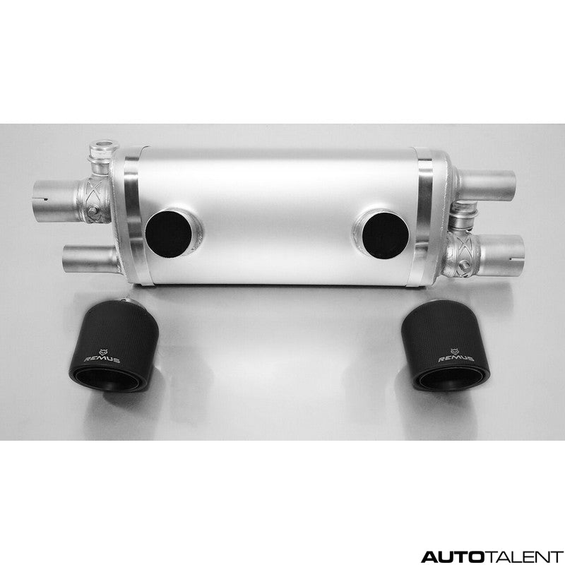 Remus Axle-Back Exhaust System - PORSCHE Carrera S / Carrera 4S Coupe & Cabrio Type 991.2 Facelift, 2015