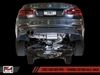 AWE Tuning BMW F3X 28i / 30i Touring Edition Axle-back Exhaust, Single Side - Diamond Black Tips (80mm)