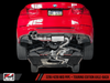 AWE Tuning BMW F3X 28i / 30i Touring Edition Axle-back Exhaust, Single Side - Diamond Black Tips (80mm) - autotalent