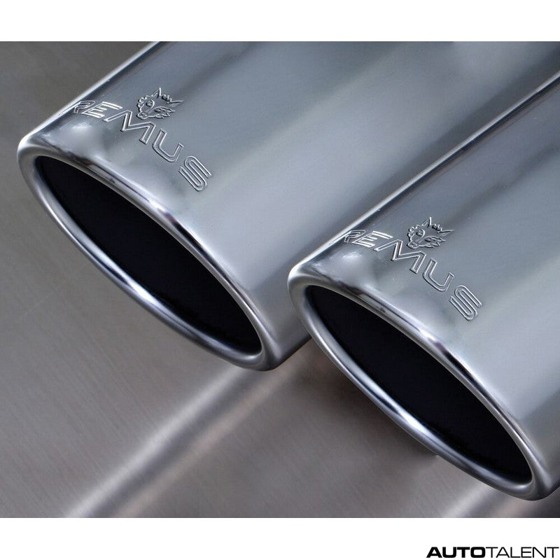 Remus Axle-Back Exhaust System - VOLKSWAGEN Golf VII R 4motion Type AU, 2014