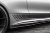 PSM Dynamic Carbon Fiber Side Skirts Mercedes-Benz W205 C63 AMG - autotalent