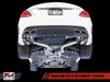AWE Tuning Mercedes-Benz W205 AMG C63/S Sedan SwitchPath Exhaust System - for non-Dynamic Performance Exhaust cars (no tips)