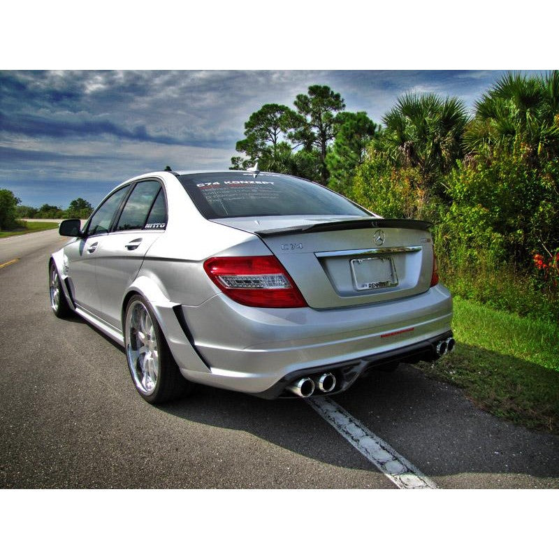 RennTech Performance Carbon Aero Package For Mercedes-Benz W204 C63 AMG 2012-2014