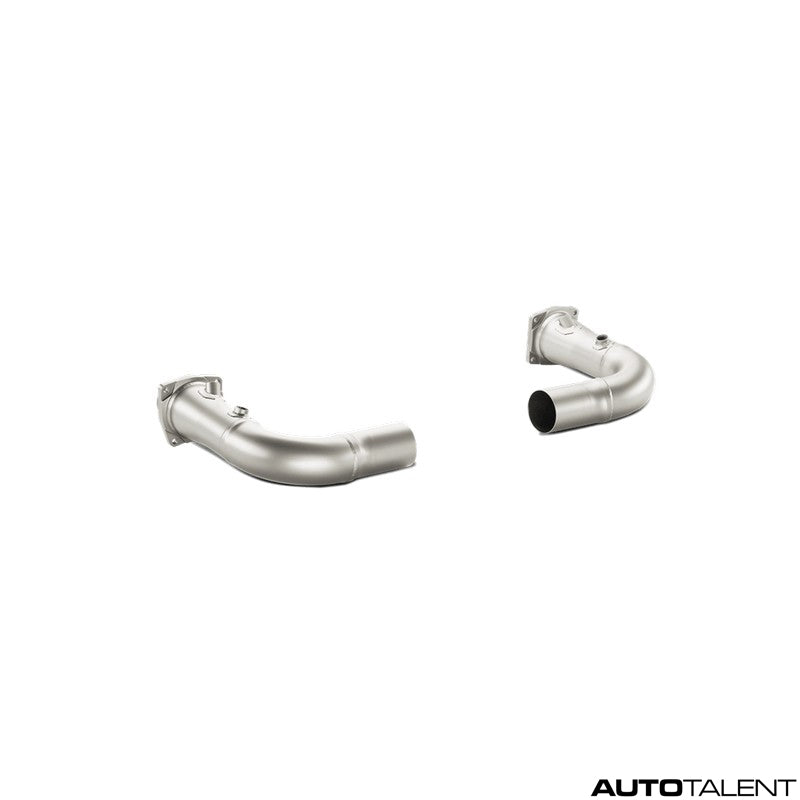Akrapovic Link-Pipe Set w/o Cat (Titanium) - Porsche 911 Turbo/Turbo S (991), 2014-2015