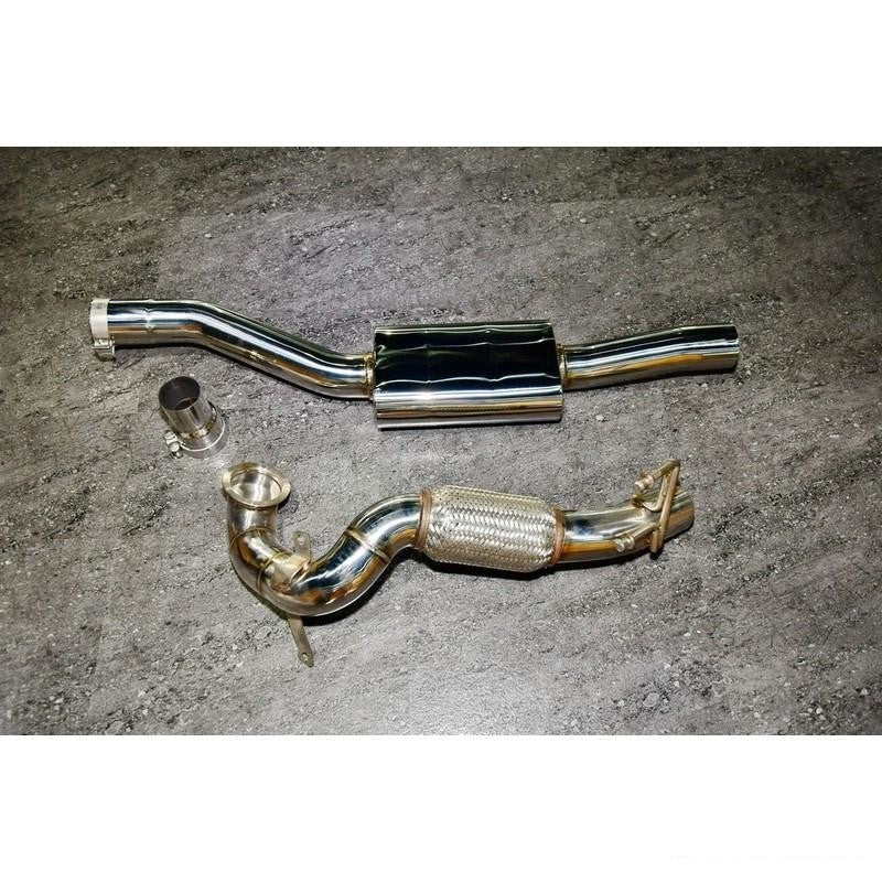 FI Exhaust Downpipe For Audi S3 Sedan 2006-2015