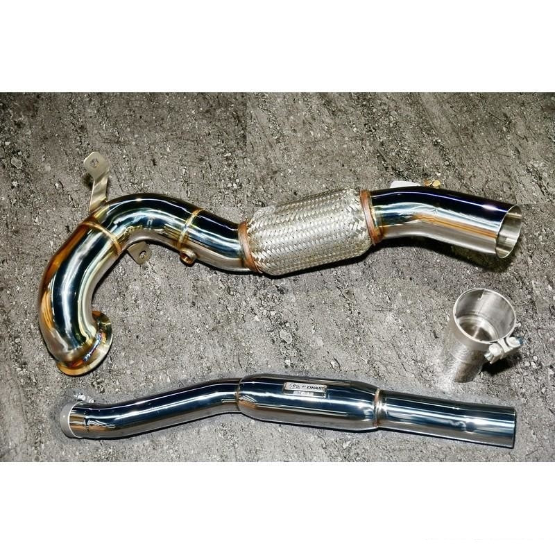 FI Exhaust Downpipe For Audi TT MK3 2014-2018