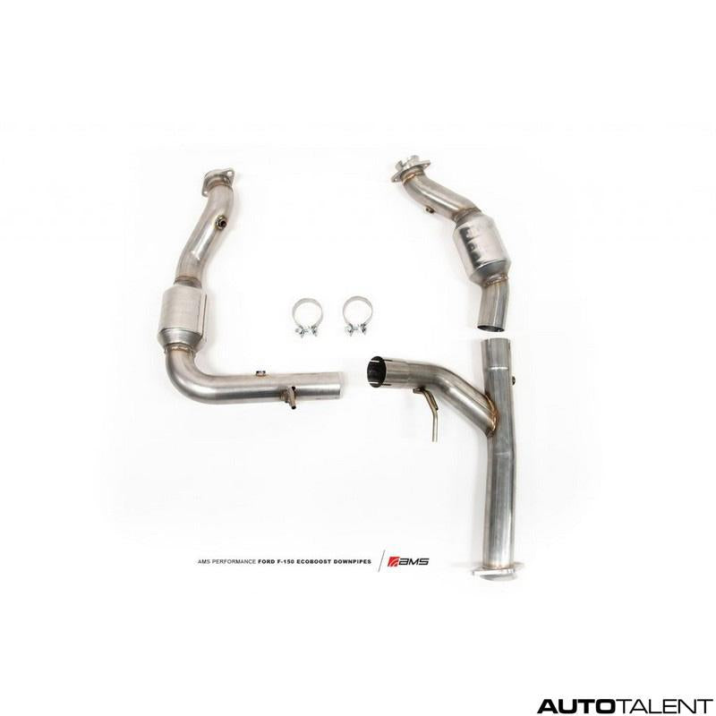 AMS Performance Exhaust Downpipe For Ford F-150 2015-2019