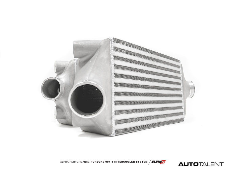 Alpha Performance AMS Porsche 991.1 Turbo Intercooler System - AutoTalent