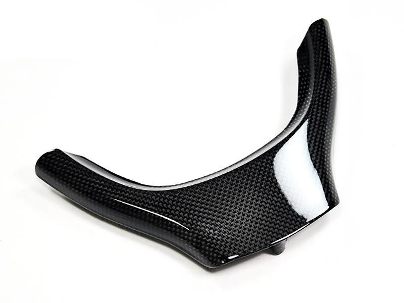 AutoTecknic Interior Carbon Fiber Steering Wheel Trim For BMW F07 5 Series