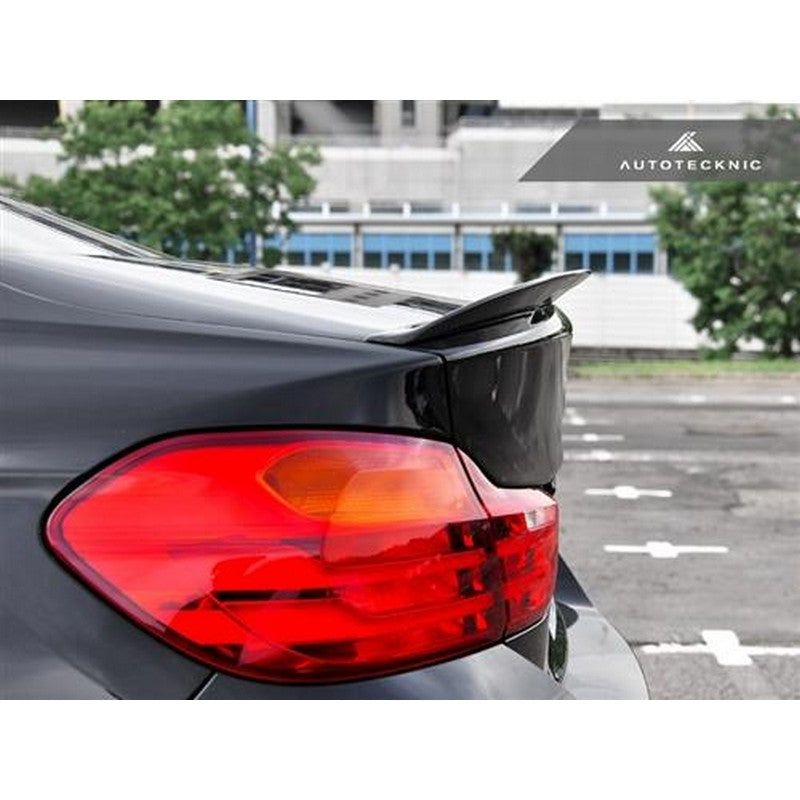 Autotecknic Vacuumed Carbon Performnate Trunk Spoiler For BMW F32 428i