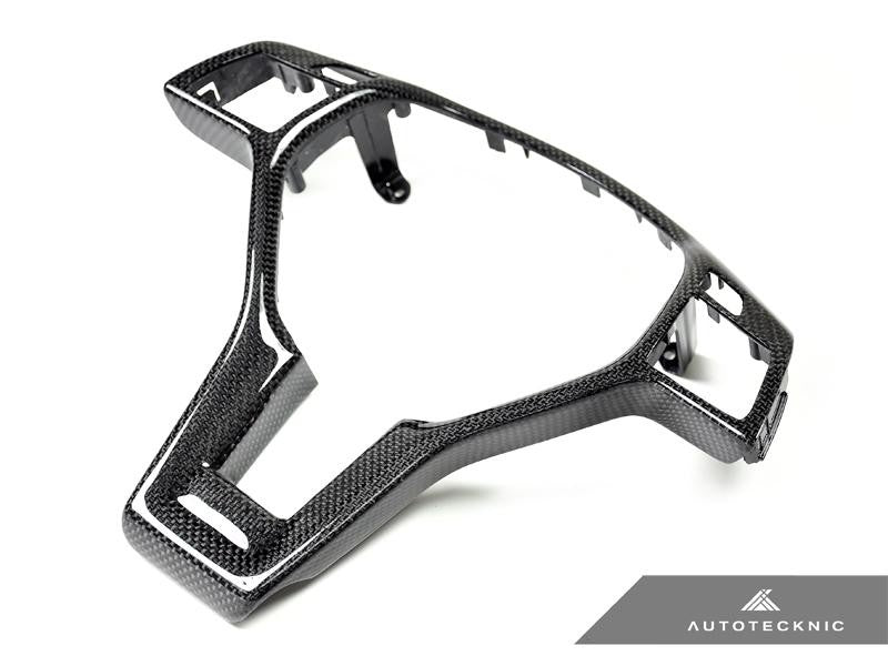 AutoTecknic Interior Steering Wheel Trim For Mercedes-Benz A63 AMG W204
