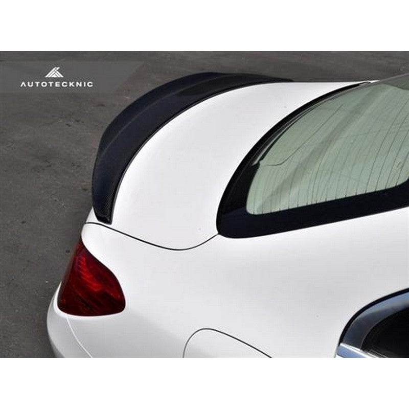 RennTech Carbon Fiber Deck Lid Spoiler For Mercedes-Benz W204 C350 2012-2014