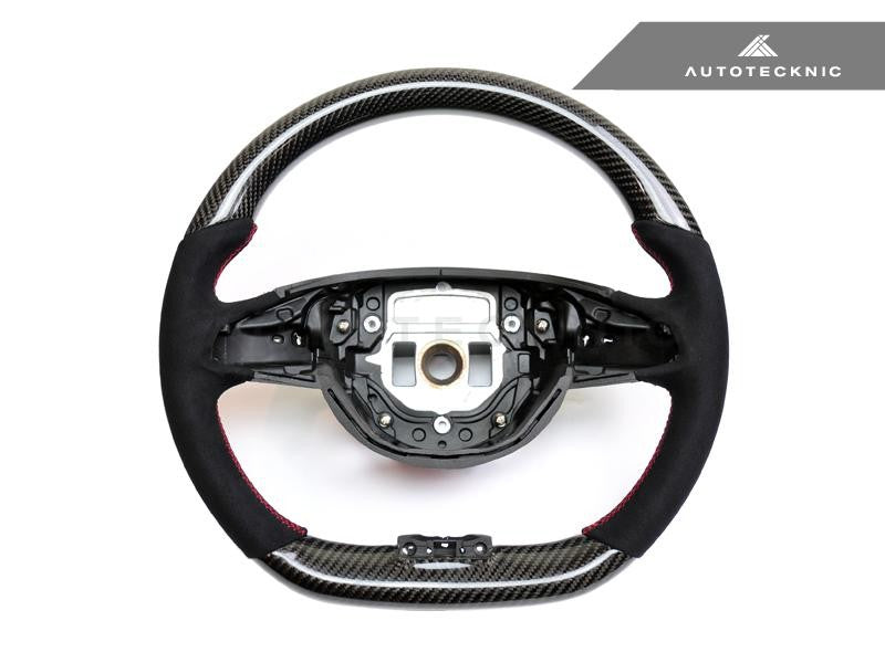 AutoTecknic Interior Steering Wheel For Mercedes-Benz C117 CLA45 AMG