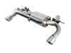 AWE Tuning BMW F3X 335i/435i Touring Edition Axle Back Exhaust - Chrome Silver Tips (102mm) - autotalent