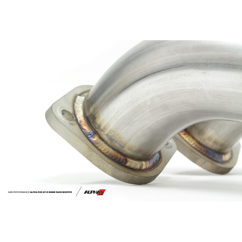 AMS Performance Alpha Exhaust Midpipe For Nissan GT-R