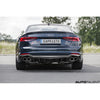 Capristo Rear Carbon Fiber Diffuser For Audi RS5 F5 - AutoTalent