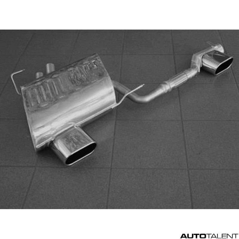 Eisenmann Rear Muffler With Serial Valance - Bmw Z4 Roadster E85, Coupe E86 2006-2008