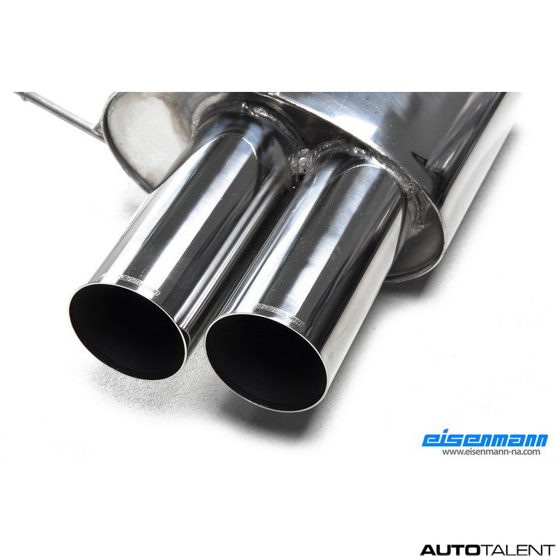 Eisenmann Rear Muffler - Bmw X5 E53 4.6iS 2002-2003