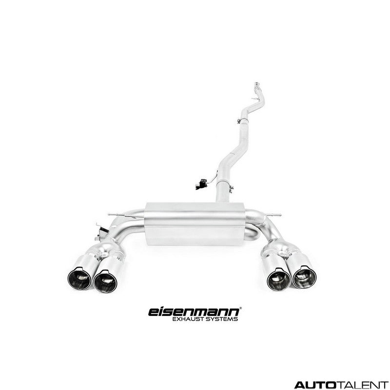 Eisenmann Axle-Back Exhaust System - Bmw M2 F87 2016-2018