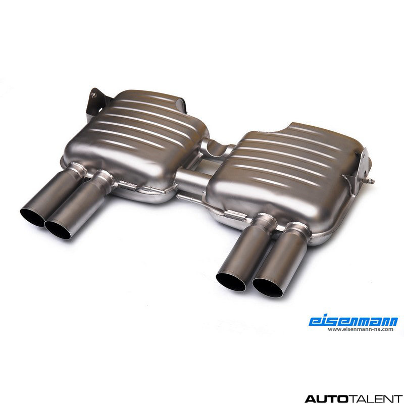 Eisenmann Axle-Back Exhaust System - Bmw M3 E92, E93 2008-2013