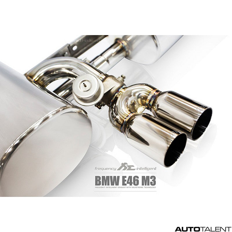 FI Exhaust Valvetronic Muffler For Bmw M3 E46 2001-2006
