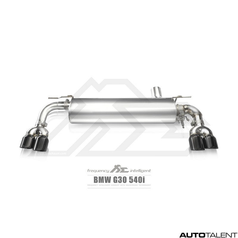 FI Exhaust Valvetronic Cat-Back System For Bmw 540i G30 2017-2018